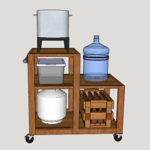 homebrew beer cart plans