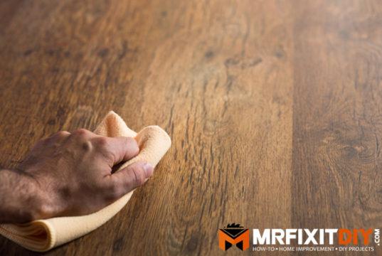 wipe on wood finish
