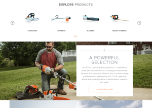 Stihl battery powered tools