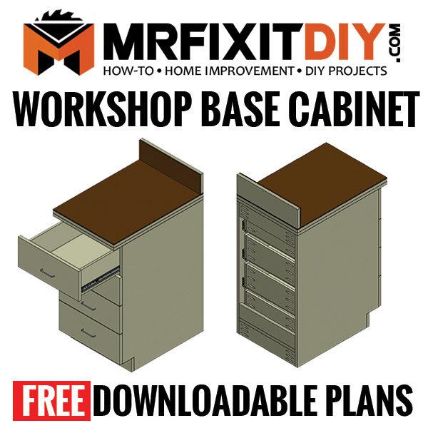 workshop cabinet plans - free