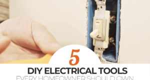 top 5 DIY electrical tools every homeowner should own