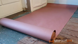red rosin paper hardwood floor installation