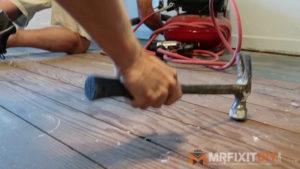 subfloor prep hardwood flooring