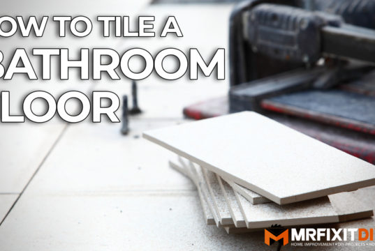 how to tile a bathroom floor