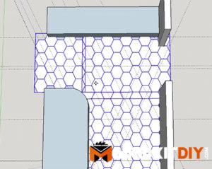 tile floor layout google sketchup - Tile Floor Layout