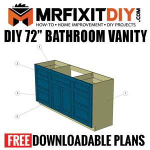bathroom vanity plans
