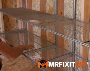 utilize shelf space shed storage