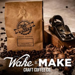 wake and make craft coffee