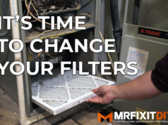 how to change your homes air filter