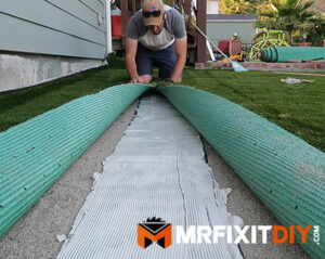 seaming artificial turf