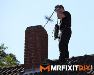 chimney sweep cleaning chimney home prepped for winter