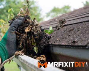 cleaning gutters prepping home for winter tips