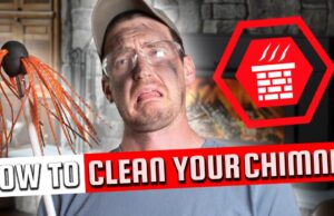 how to clean your chimney DIY chimney cleaning