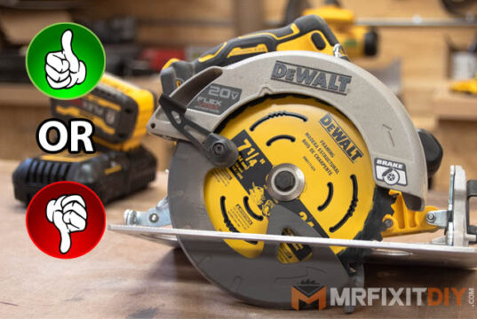 "dewalt 20v max lithium ion brushless 7 1/4"" circular saw with flexvolt advantage review"