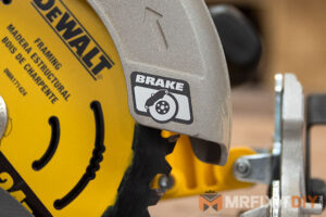 dewalt circular saw with electronic brake