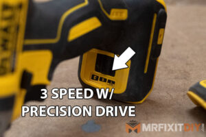 dewalt 20v max impact driver with 3 speed transmission and precision drive review