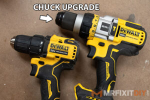 dewalt 20v max with flexvolt advantage metal chuck upgrade