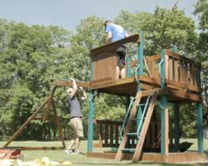 building the playset
